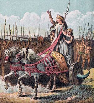 300px-Pictures_of_English_History_Plate_IV_-_Boadicea_and_Her_Army