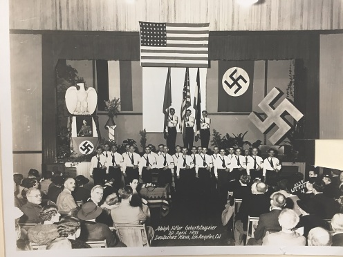 Hitler's Birthday celebration DH April 1935